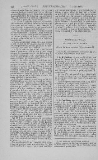 Tome 9 : Du 16 septembre au 11 novembre 1789 - page 342