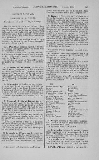 Tome 9 : Du 16 septembre au 11 novembre 1789 - page 349