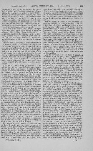 Tome 9 : Du 16 septembre au 11 novembre 1789 - page 353