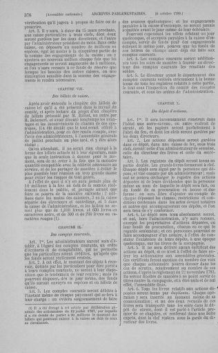Tome 9 : Du 16 septembre au 11 novembre 1789 - page 378