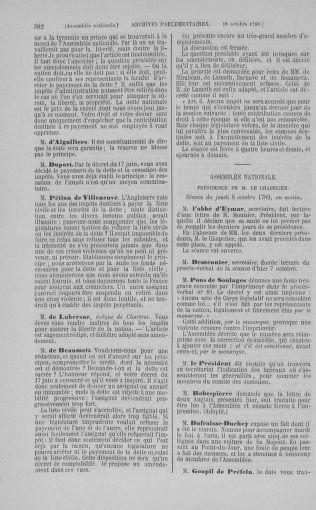 Tome 9 : Du 16 septembre au 11 novembre 1789 - page 382