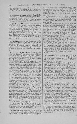 Tome 9 : Du 16 septembre au 11 novembre 1789 - page 384