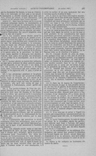 Tome 9 : Du 16 septembre au 11 novembre 1789 - page 387