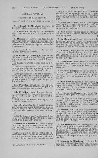 Tome 9 : Du 16 septembre au 11 novembre 1789 - page 388