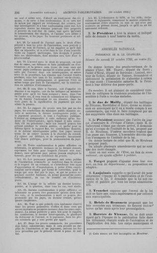 Tome 9 : Du 16 septembre au 11 novembre 1789 - page 396