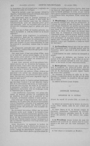 Tome 9 : Du 16 septembre au 11 novembre 1789 - page 414