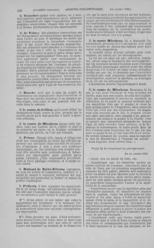 Tome 9 : Du 16 septembre au 11 novembre 1789 - page 442