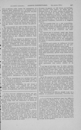 Tome 9 : Du 16 septembre au 11 novembre 1789 - page 447