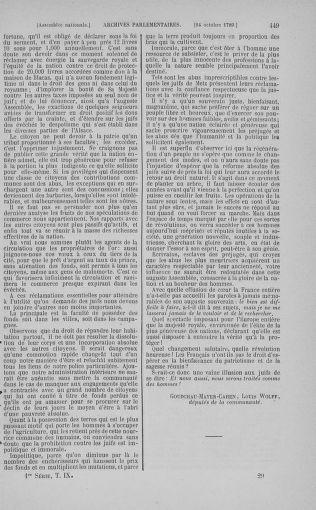 Tome 9 : Du 16 septembre au 11 novembre 1789 - page 449