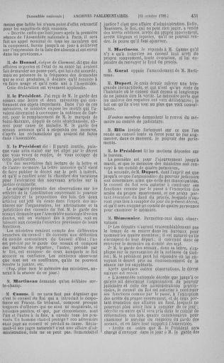 Tome 9 : Du 16 septembre au 11 novembre 1789 - page 451