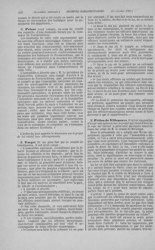 Tome 9 : Du 16 septembre au 11 novembre 1789 - page 452