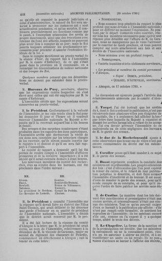Tome 9 : Du 16 septembre au 11 novembre 1789 - page 468