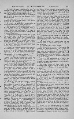 Tome 9 : Du 16 septembre au 11 novembre 1789 - page 477