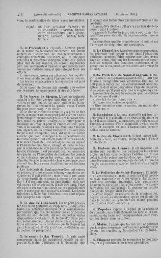 Tome 9 : Du 16 septembre au 11 novembre 1789 - page 478