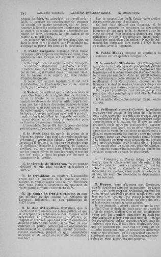 Tome 9 : Du 16 septembre au 11 novembre 1789 - page 484