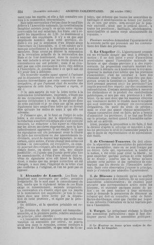 Tome 9 : Du 16 septembre au 11 novembre 1789 - page 554