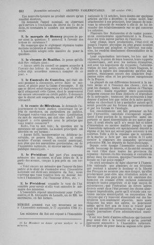 Tome 9 : Du 16 septembre au 11 novembre 1789 - page 592