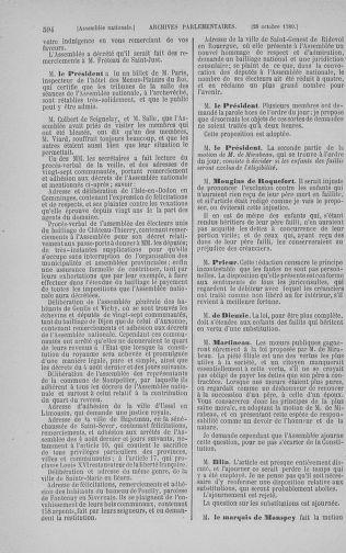 Tome 9 : Du 16 septembre au 11 novembre 1789 - page 594