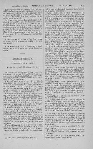 Tome 9 : Du 16 septembre au 11 novembre 1789 - page 601