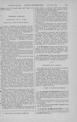 Tome 9 : Du 16 septembre au 11 novembre 1789 - page 613