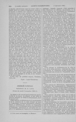 Tome 9 : Du 16 septembre au 11 novembre 1789 - page 652