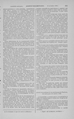 Tome 9 : Du 16 septembre au 11 novembre 1789 - page 653