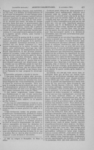 Tome 9 : Du 16 septembre au 11 novembre 1789 - page 677