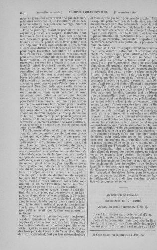 Tome 9 : Du 16 septembre au 11 novembre 1789 - page 678