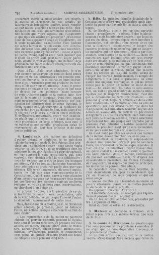 Tome 9 : Du 16 septembre au 11 novembre 1789 - page 716