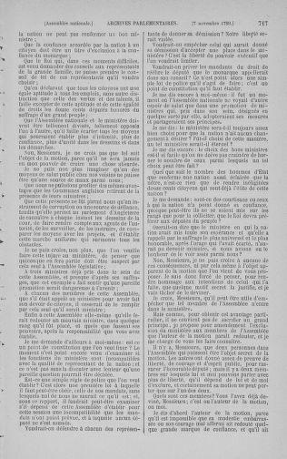 Tome 9 : Du 16 septembre au 11 novembre 1789 - page 717