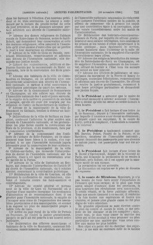 Tome 9 : Du 16 septembre au 11 novembre 1789 - page 731