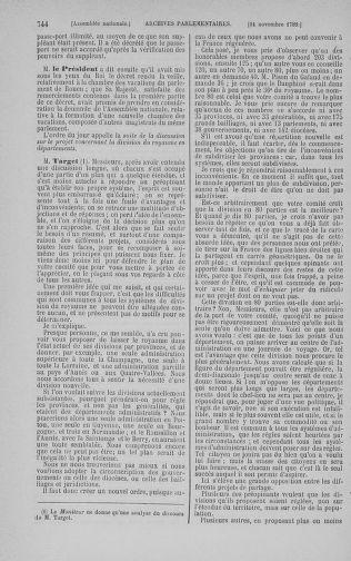Tome 9 : Du 16 septembre au 11 novembre 1789 - page 744