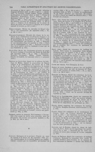 Tome 9 : Du 16 septembre au 11 novembre 1789 - page 784