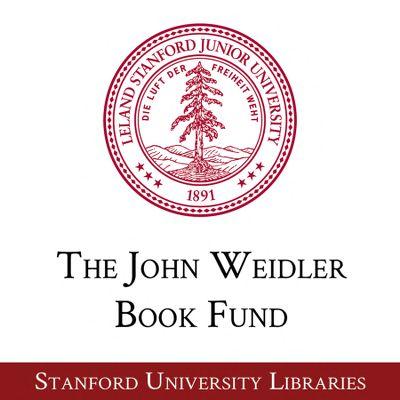 The John Weidler Book Fund