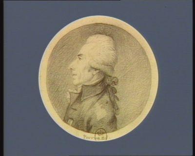 Charles Elie de Ferrières-Marsay né à Poitiers en 1741 député de Saumur : [dessin]