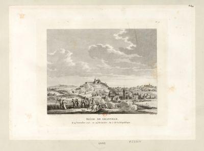 Siege de Granville le 14 novembre 1793, ou 24 brumaire, an 2 de la République : [estampe]