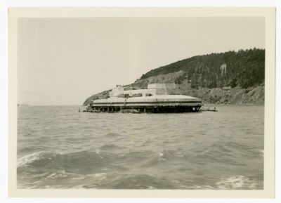 17. Pier 6 and Goat Island June 1934