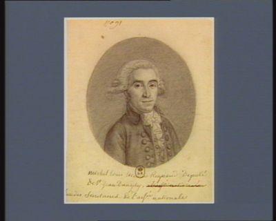 Michel Louis Etienne Regnaud deputé de St Jean d'Angely, l'un des secretaires de l'Ass.ée nationale : [dessin]