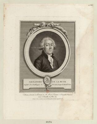 Alexandre de La Meth député des baillages de Péronne, Ray & Montdidier : [estampe]
