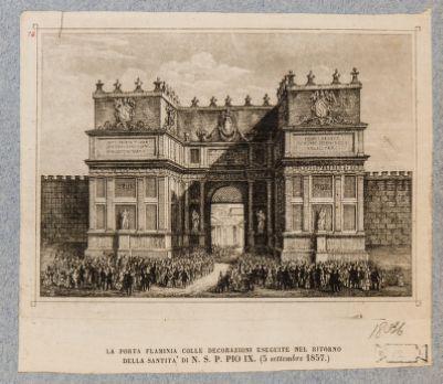 Porta Flaminia, esterno