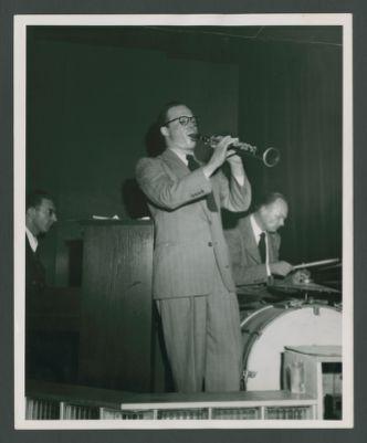 Bill Napier with Burt Bales and Stan Ward