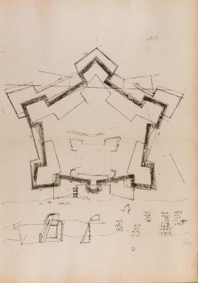 Castel S. Angelo, pianta