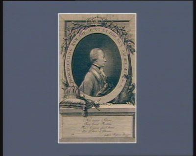 Franciscus <em>II</em> D.G. Rom. Impr. Hung et Boh. Rex Archid. Aus. &c &c [estampe]