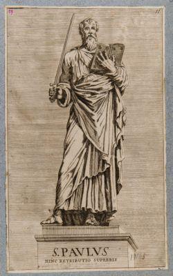 Statua di S. Paolo al ponte S. Angelo