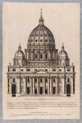 L'eglise de St. Pierre a Rome