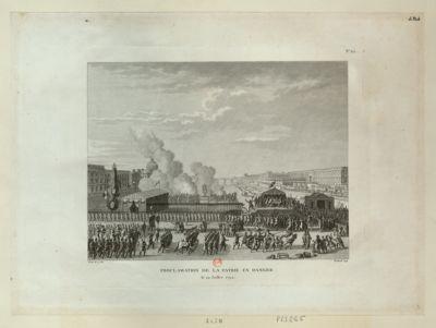 Proclamation de la patrie en <em>danger</em> le 22 juillet 1792 : [estampe]
