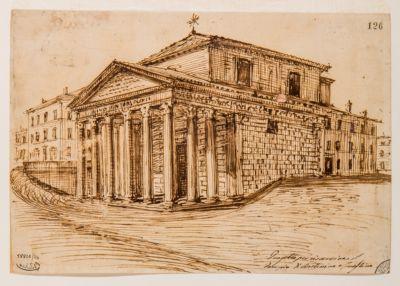 Tempio di Antonino e Faustina, progetto di restauro