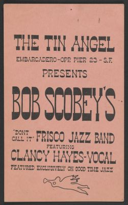 Bob Scobey at the Tin Angel