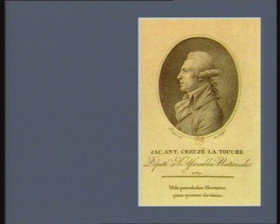 Jac. Ant. Creuzé La Touche député à l'Assemblée nationale 1789 : [estampe]