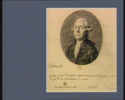 Jullien Joseph de Lalande né le 19 mars 1742 deputé de la senechaussée du Maine une grosse gerbe de blé : [dessin]